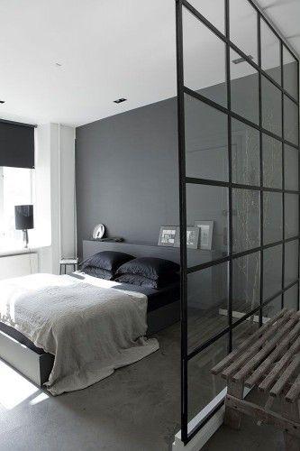 Ƹ̴Ӂ̴Ʒ Couleurs d\u0027automne-hiver 2014 Ƹ̴Ӂ̴Ʒ Bedrooms, Gray bedroom