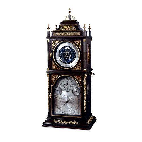 010-Reloj de mesa Astronómico de Henry Jenkins-© Trustees of the British Museum
