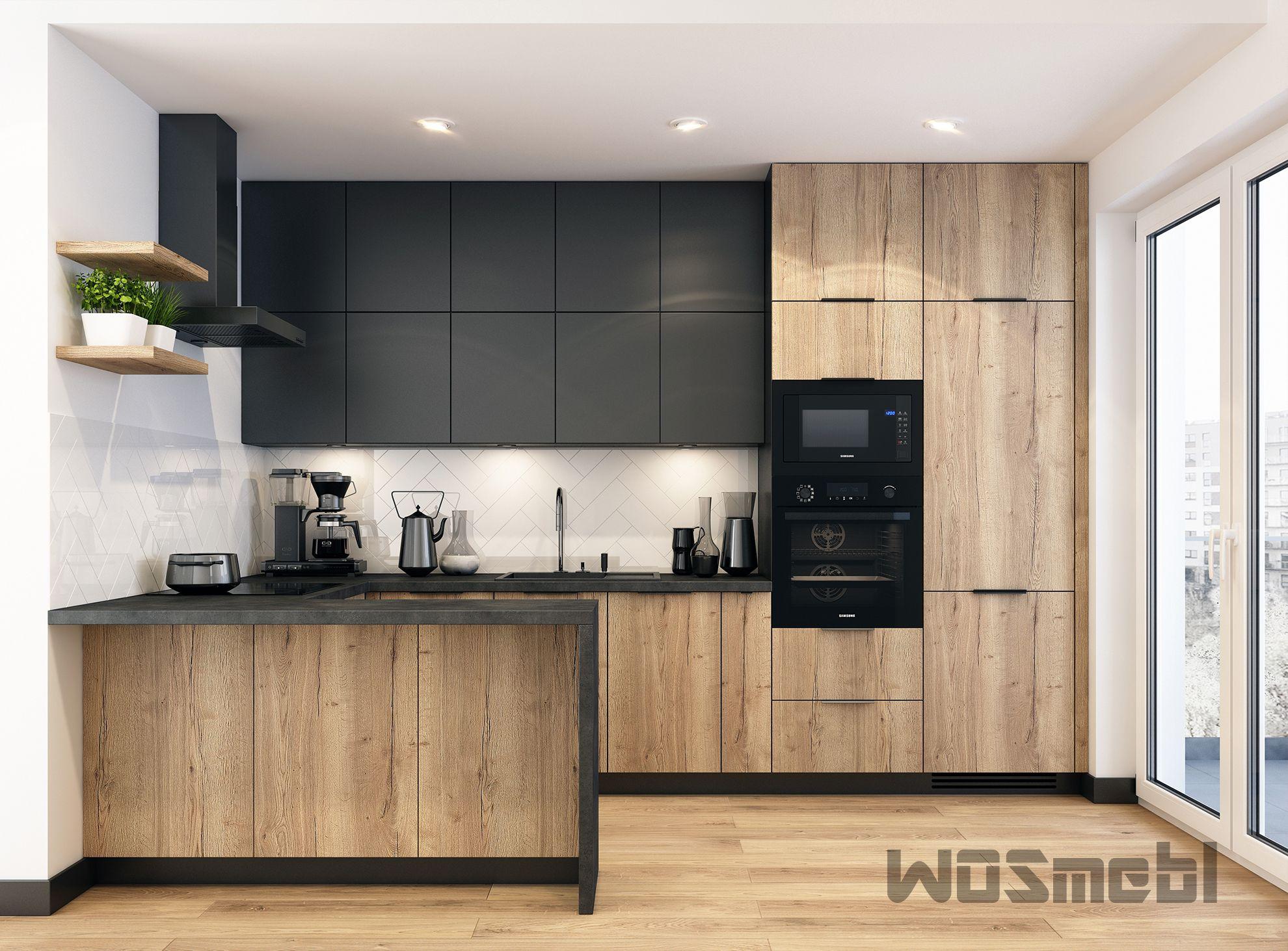 Kuchnia W Stylu Industrialnym Modern Kitchen Interiors Modern Kitchen Home Decor Kitchen