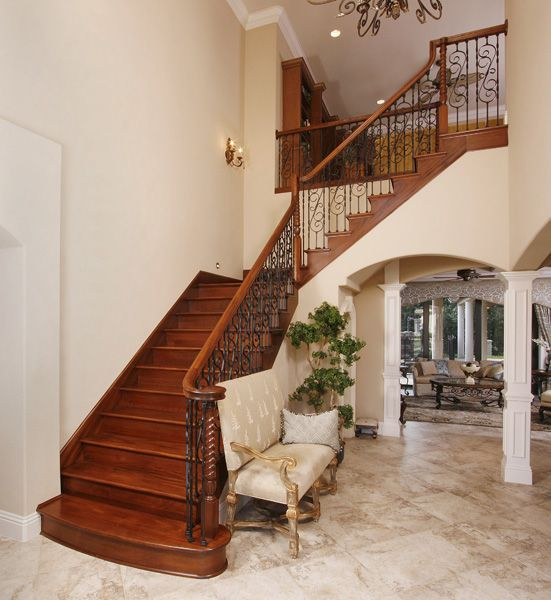 Best Cherry Wood Stair Cases Images Google Search With 400 x 300