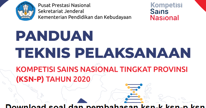 Download Panduan Pelaksanaan Ksn P Sma 2020 Pdf Sma