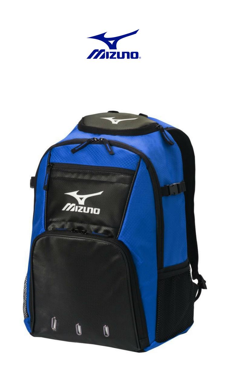 e260a481610 Mizuno - G4 Bat Pack   Royal Black   Click for Price and More   Sport  Backpack   Mizuno Bag   Sport Bag   Gear Storage   Baseball and Softball    Backpack ...