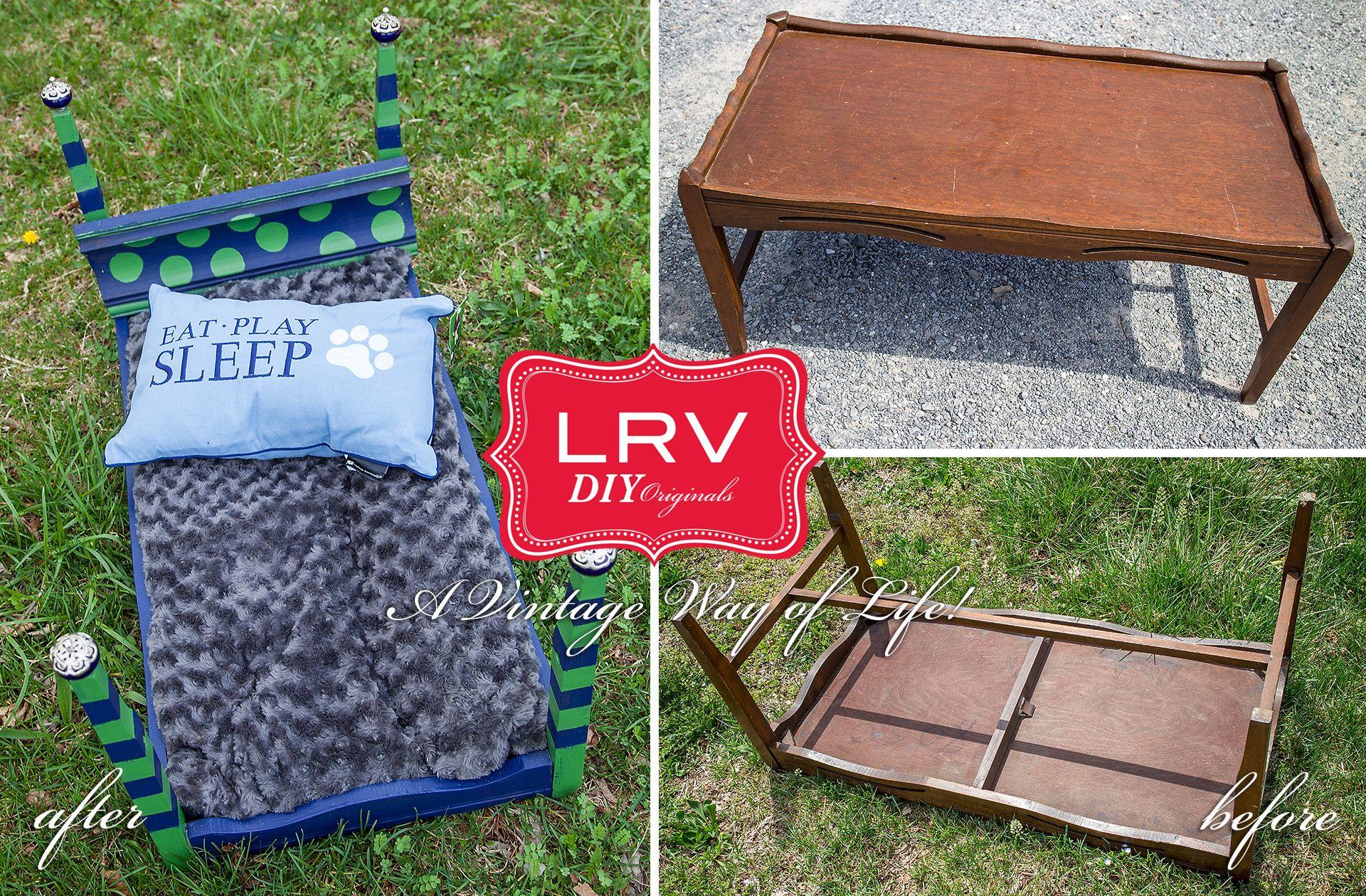 Vintage Wecycled Dog Beds! Dog bed, Outdoor blanket