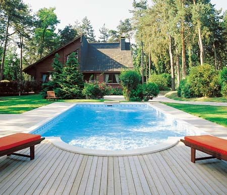 Desjoyaux Pools Swimming Pools Pool House Designs Pool Patio