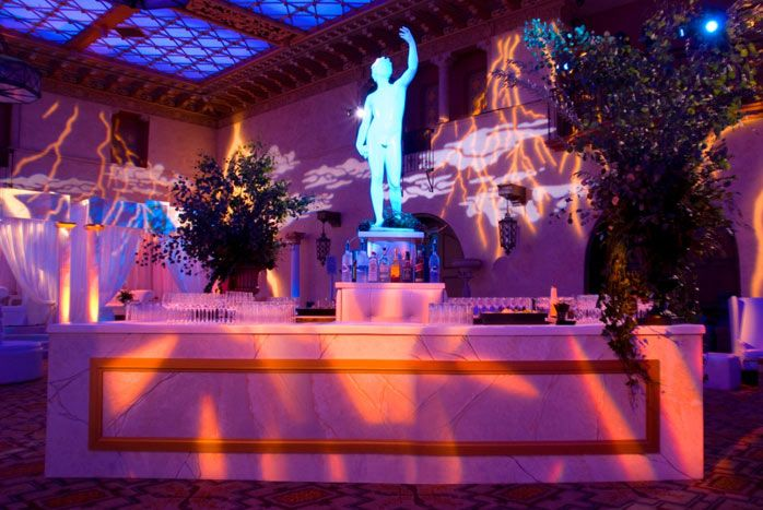 Greed mythology inspired the party decor wedding for Ancient greek decoration ideas