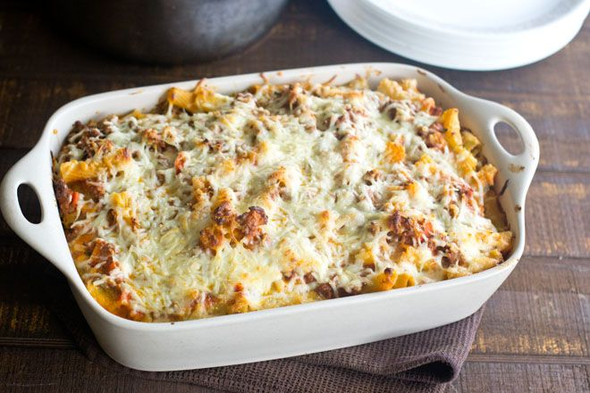Baked Ziti - Cook the Story