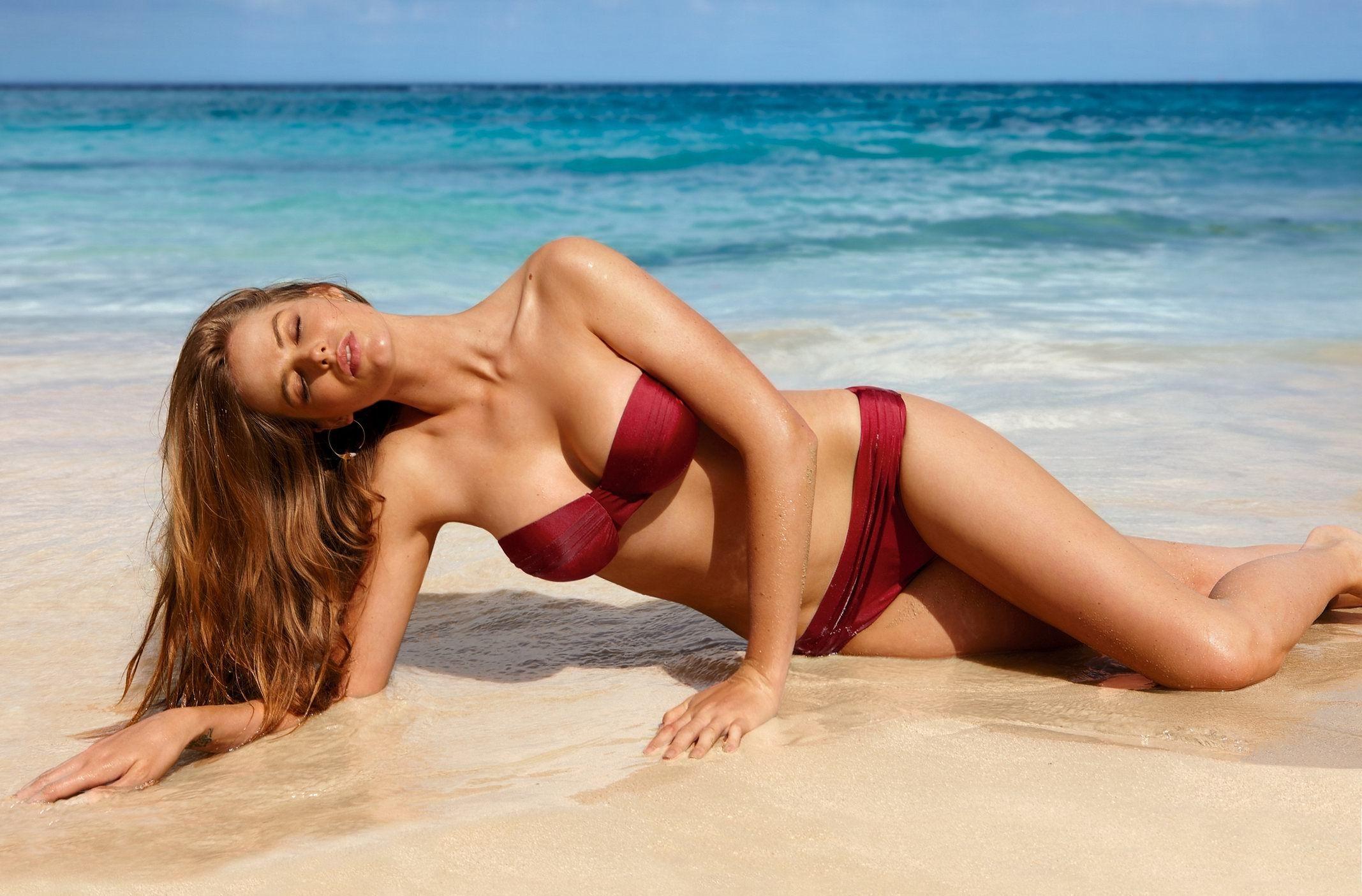 Lesbian bikini model beach pictures bening nude