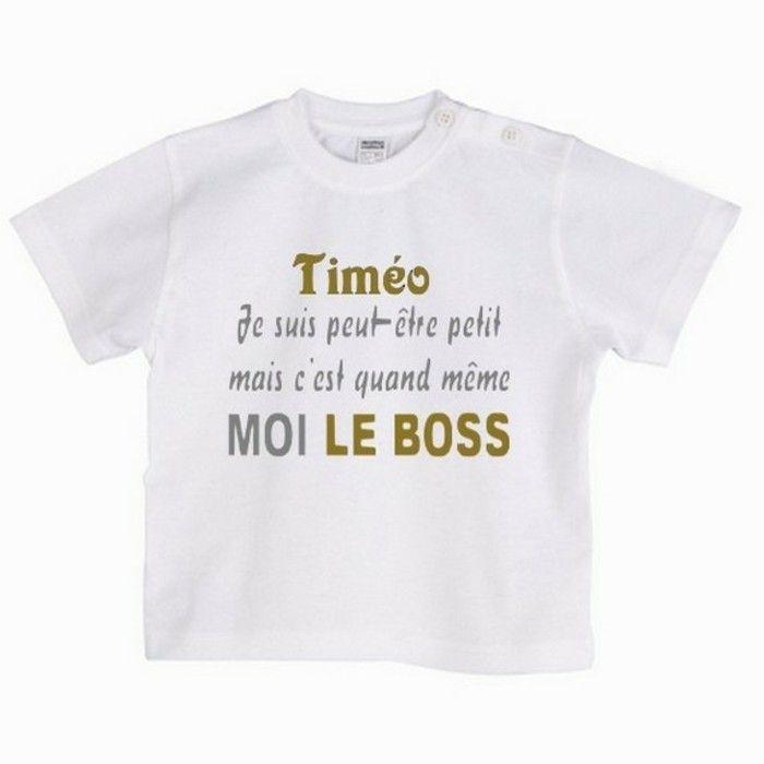 Préférence T-shirt personnalisé enfant pour chaque occasion. 80 idées  CM66