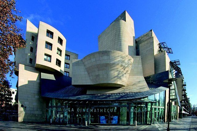 Cinematheque Francaise In Paris By Frank O Gehry