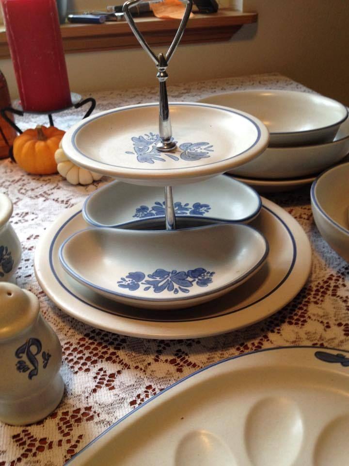 Large Dish Set PFALTZGRAFF YORKTOWNE POTTERY PLUS SERVING DISHES ...