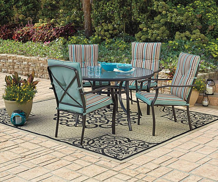 Wilson Fisher Cushioned Chair Patio Set At