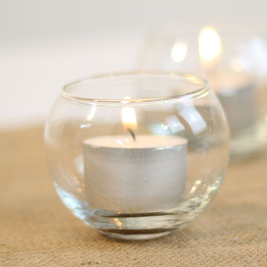Fish Bowl Tealight Holder - 1 piece | Wedding tables, Weddings and ...