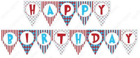 photo about Printable Birthday Decorations called Pleased Birthday Decorations Printable Flisol Residence