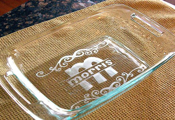 Super easy to make with a Cricut, some vinyl and glass etching paste ... a great gift idea!
