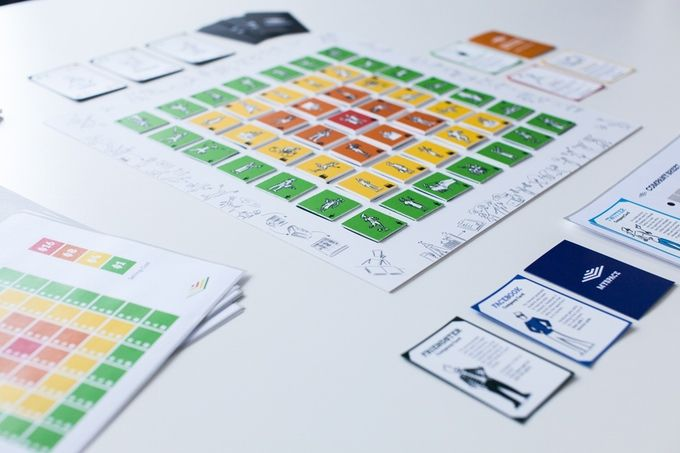 Playing Lean - board game