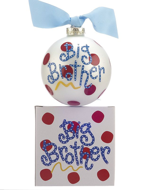 Big Brother Christmas Ornament Part - 30: Big Brother