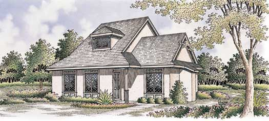Cottage Style House Plans 1019 Square Foot Home 2 Story 2 Bedroom And 2 Bath 0 Ga Cottage Style House Plans Country Style House Plans Cottage House Plans