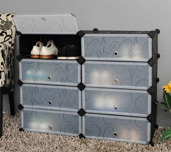 Schuhaufbewahrung Ideen coole idee für die schuhaufbewahrung unbedingt kaufen