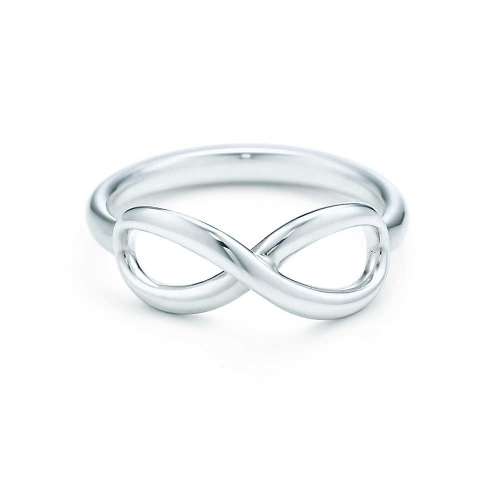 ff802647e Tiffany Infinity ring in sterling silver. | Tiffany & Co. A sign of our  enduring love for each each other.