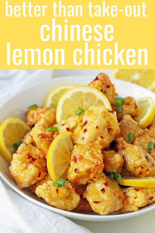 Chinesisches Zitronen-Huhn - moderner Honig #chinesefood