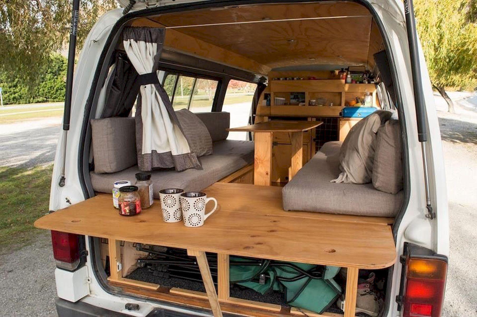 The Perfect Way Campervan Interior Design Ideas (55 Diy