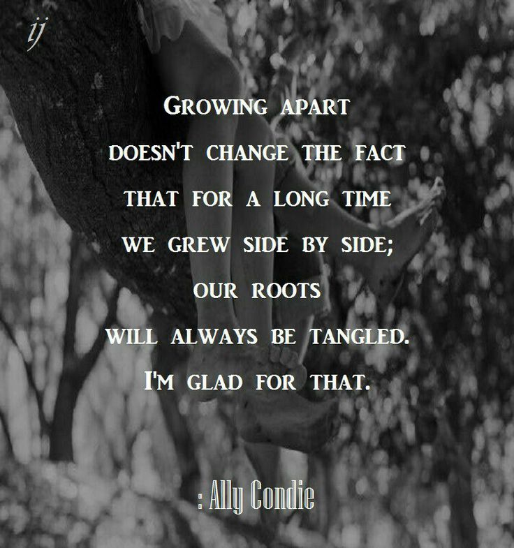Growing apart.. quotes about friendship | Quotes | Think