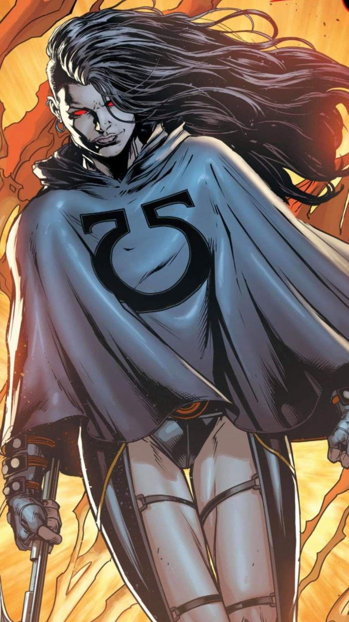 Graildaughter of darkseid dc comics characters