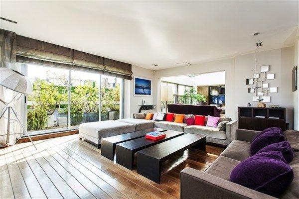Appartement de prestige avec 2 chambres une immense for Terrasse paris appartement