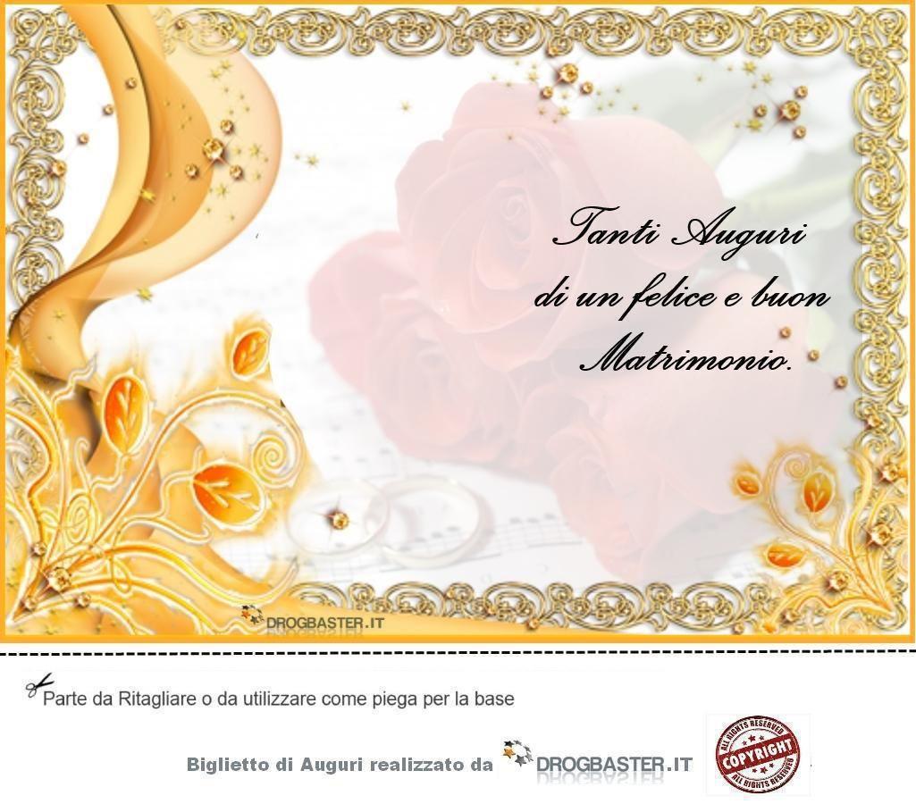 Biglietto Matrimonio Da Stampare Gratis Matrimonio Biglietto Di Auguri Biglietto
