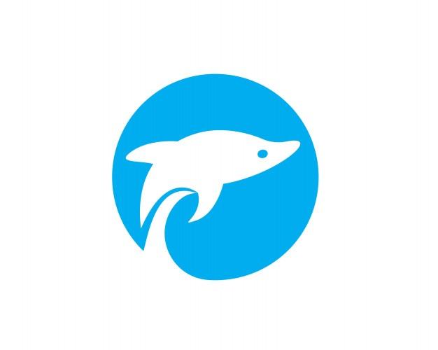 Dolphin Logo Icon Vector Dolphin Logo Dolphins Logo Icons