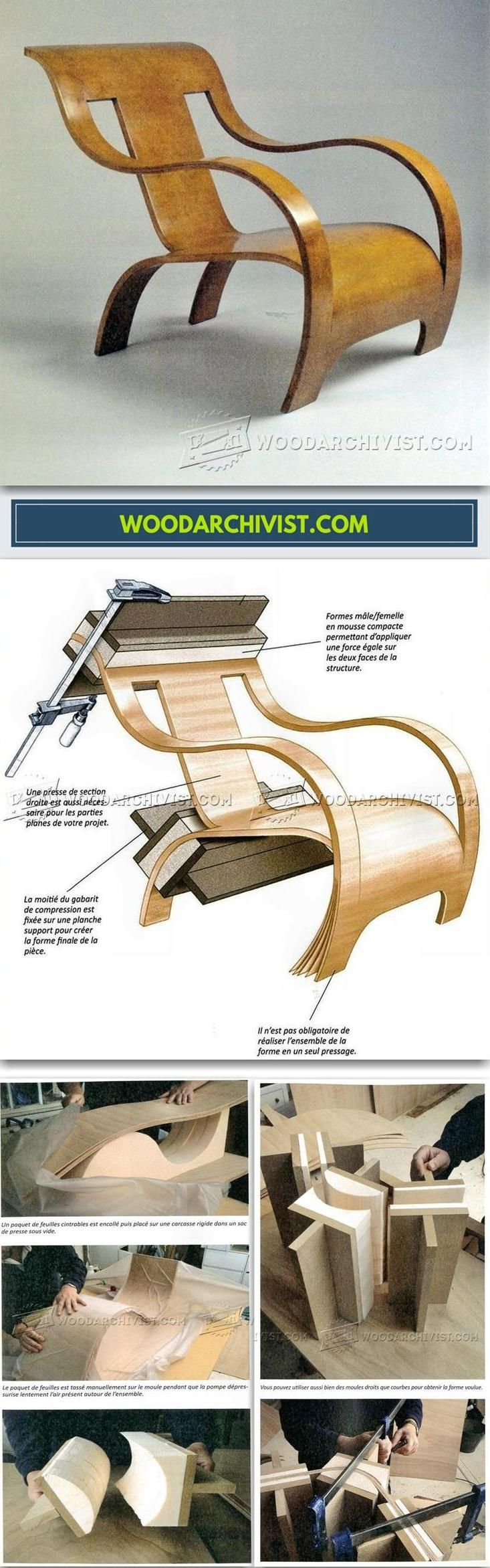 Bent Armchair Plans Furniture Plans And Projects Woodarchivist Com Timber Furniture Woodworking Furniture Building Furniture