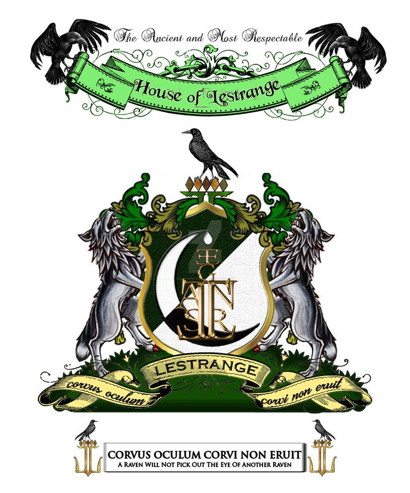 Lestrange Family S Coat Of Arms By Slytherin Serpent On Deviantart Lestrange Coat Of Arms Slytherin