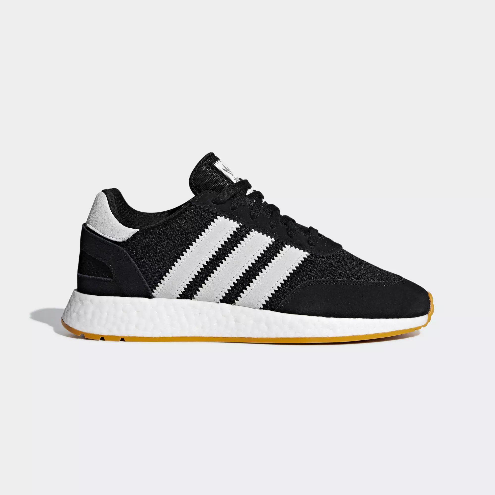 Details zu Adidas I 5923 schwarz BD7525 triple black Iniki Sneaker Originals Männer Schuhe