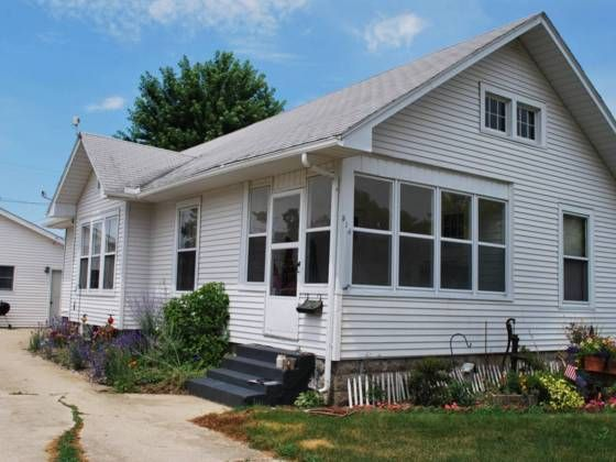 Dont miss out on this charming bungalow.  Features include 3 bedrooms 1 bath full basement walk up attic open floor plan original wood work built in hutch in dining room hardwood floors appliances stay 2 car garage w opener and cement patio.