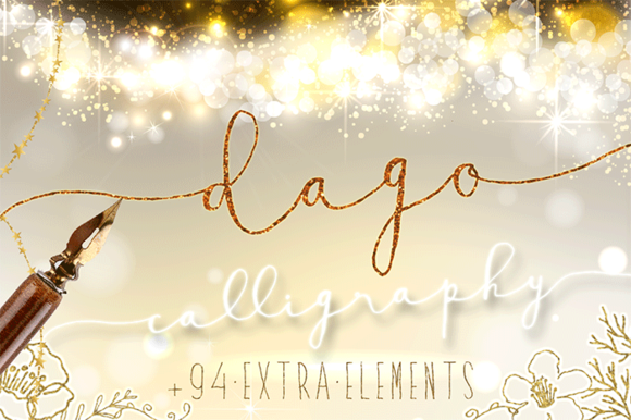 Check out Dago, Modern Calligraphy Font by mycandythemes on Creative Market