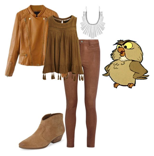 Archimedes by tynestar on Polyvore featuring VILA, MiH Jeans, Vince Camuto, Lucky Brand and Disney