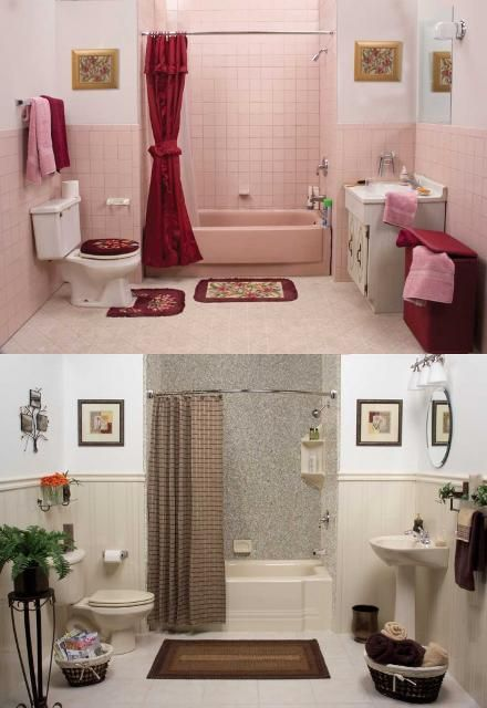 Beautiful bathroom remodel from Granite Transformations-- new shower ...