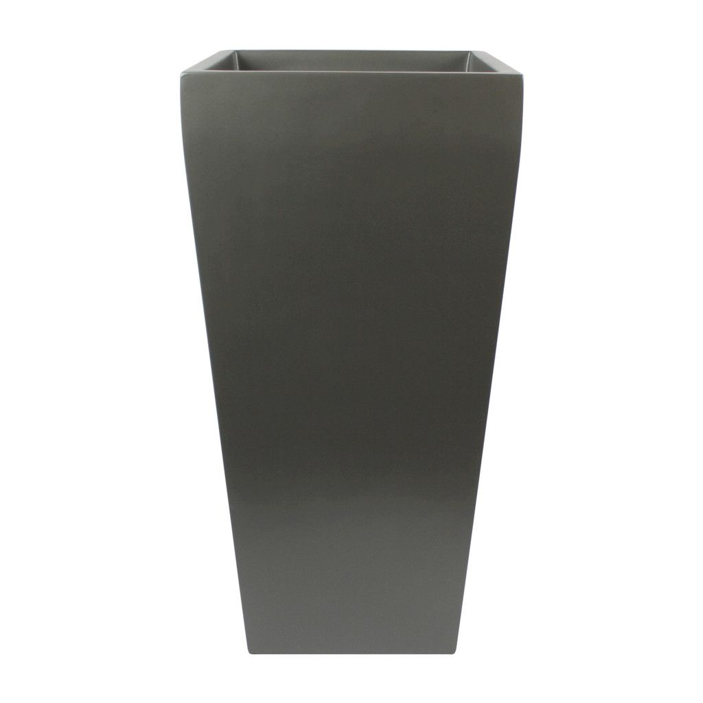 Windsor Tall Square Planter   Grey   MICHAEL   MAX   Pinterest     The Windsor Tall Square Planter will make a statement in any indoor or  outdoor space  The planters have a beautiful silhouette that taper down to  the base