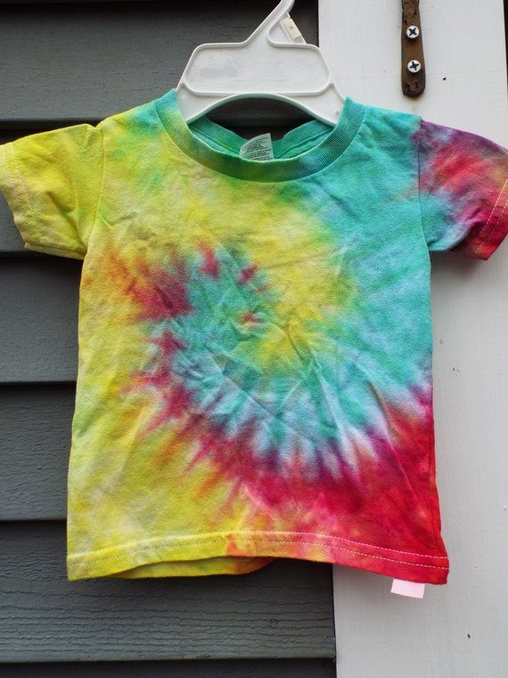 88873d54f961d Toddler Tie Dye Shirt, Custom Tie Dye T-Shirt for toddlers, Little ...