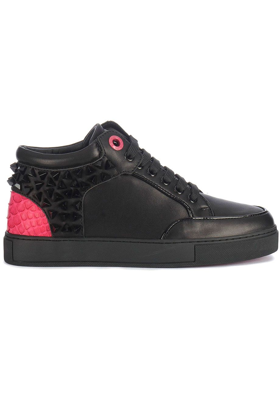 huge selection of 21dc8 ba67c Trendy Royaums Kilian Revo BlackPink (zwart) Dames sneakers van het merk  royaums . Uitgevoerd in zwart.