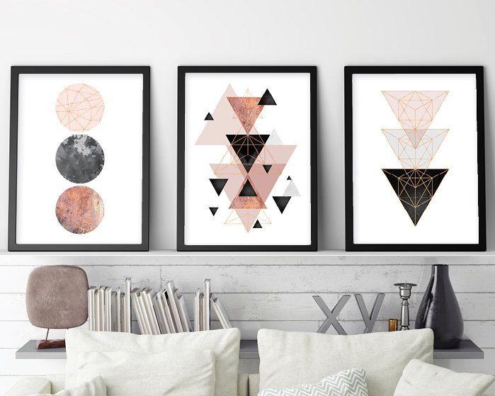 Skandinavische Poster satz 3 drucke minimalist poster skandinavisch skandinavische