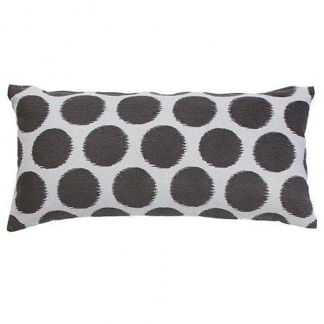Charcoal Meg Breakfast Cushion by Designers Choice