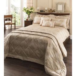 Buy Catherine Lansfield Home Signature Decadent Double Bed Duvet cover set with Oxford Pillow Cases Natural from our Double Duvet Covers range - Tesco.com