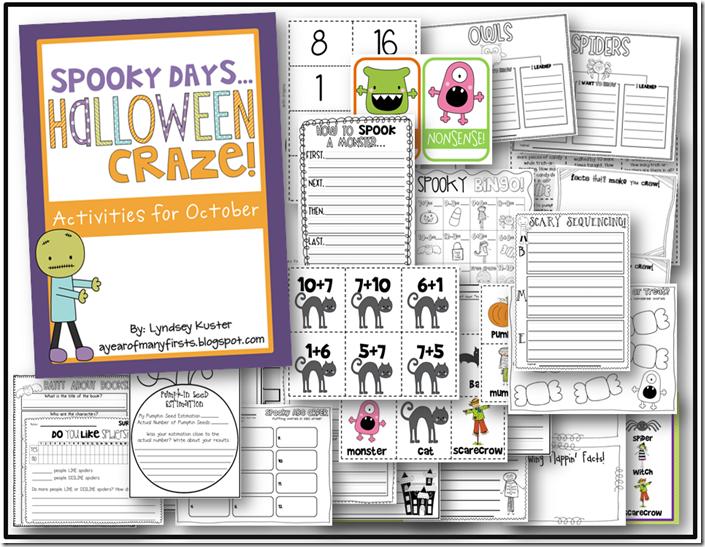 Spooky Days, Halloween Craze! {Activities for October}