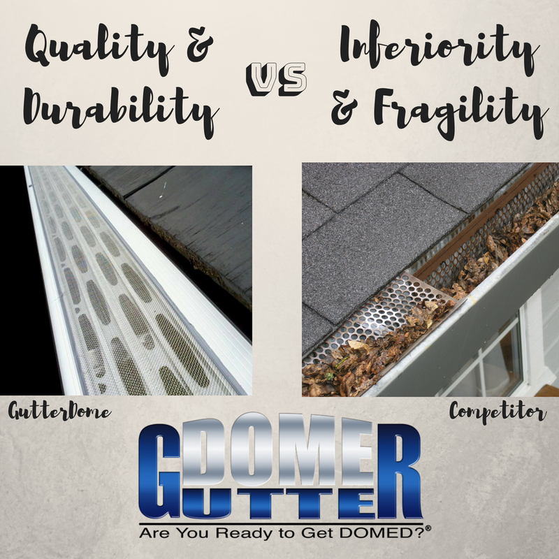 Not All Gutter Protection Systems Are Created Equal And If You Want The Finest Products The Industry Has To O Gutter Protection Gutters How To Install Gutters