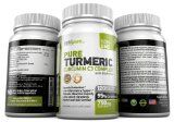 PREMIUM Pure Turmeric Curcumin Features C3 Complex® (750mg) w/ BioPerine®,120 (or 2-Month) Vegi Capsules, 95% Curcuminoids, Maximized Absorption, cGMP Compliance, Patented Herbal Supplement, Non-GMO, 100% Natural, Z