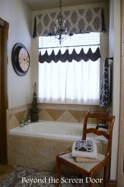 Curtains Ideas bathroom valance curtains : 17 Best images about Curtain Ideas on Pinterest | Balloon shades ...
