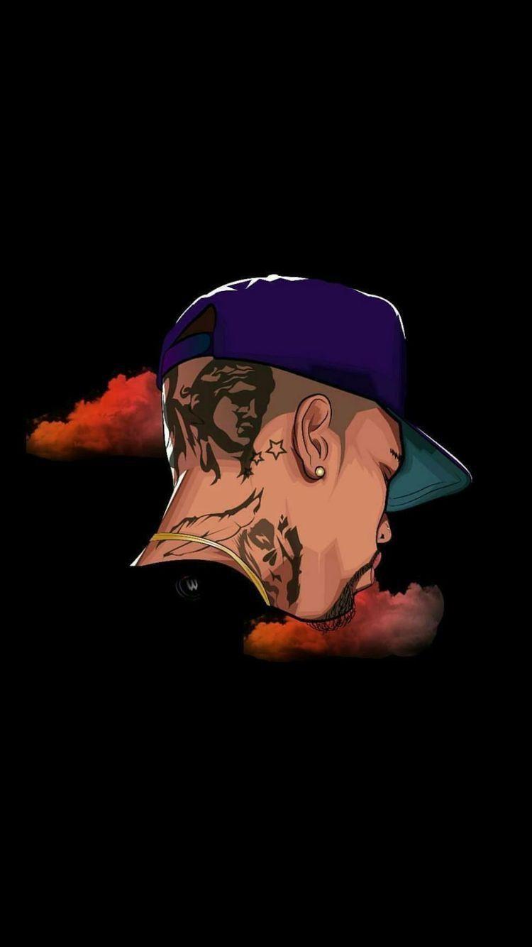 Pin By On ʀ Chris Brown Art Chris Brown Wallpaper Chris Brown Tattoo