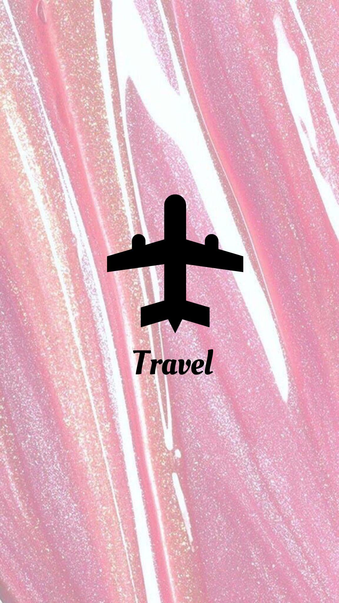 Background Instagram Travel Traveling Airplane World Pink