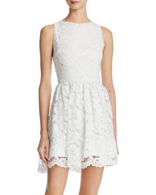 Alice + Olivia Ginger Lace Dress - 100% Bloomingdale's Exclusive | Bloomingdale's